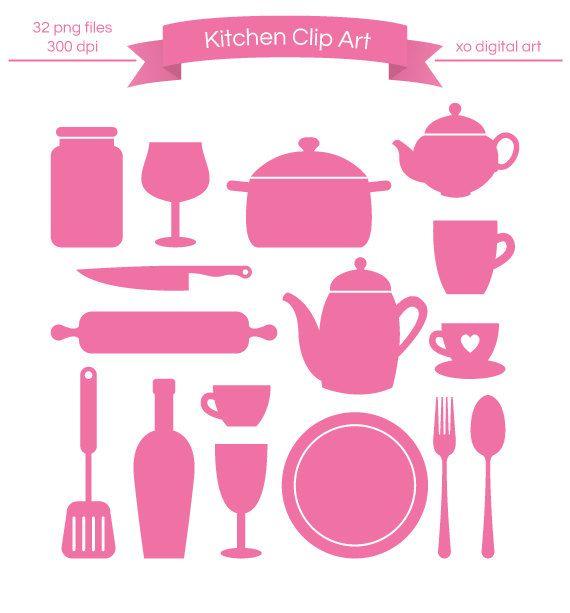 Kitchen Art 88: 88 Best KITCHEN CLIP ART Images On Pinterest