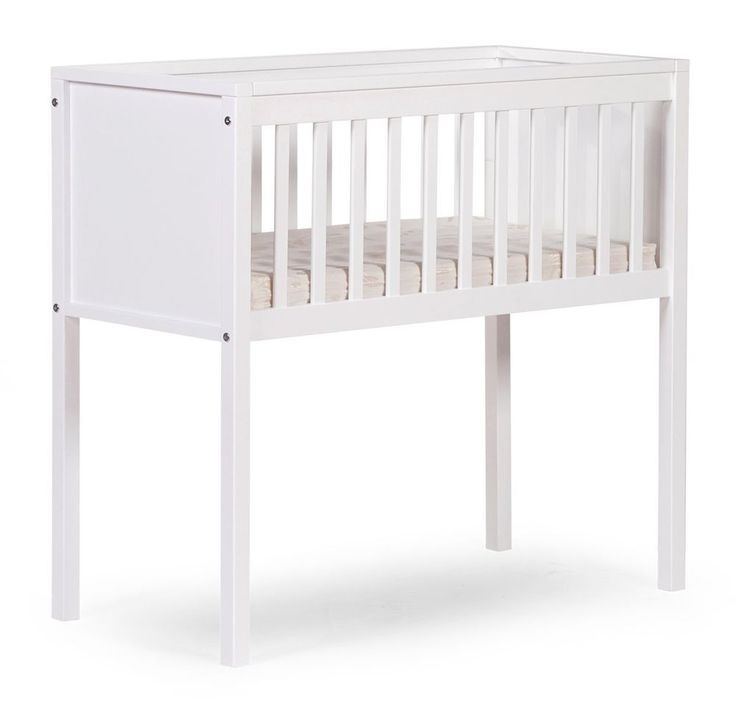White Wooden Baby Crib Newborn Cot Bed Bedroom Boys Girls Home Nursery Furniture