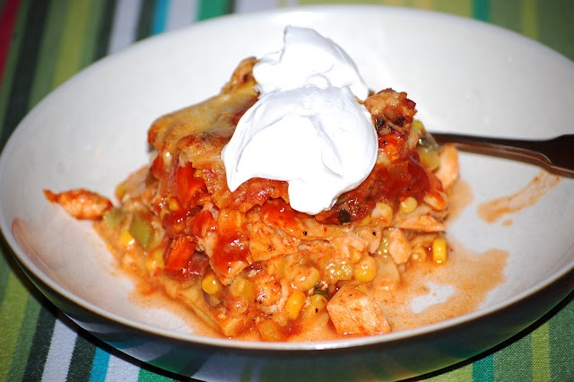 Mexican Style Lasagna. | That's What Bob's Cooking | Pinterest
