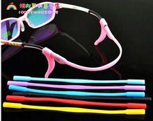 5 unids monturas de gafas gancho de oreja un conjunto de silicona antideslizante templo titular accesorios negro blanco rosado rojo etc 12 colors(China (Mainland))