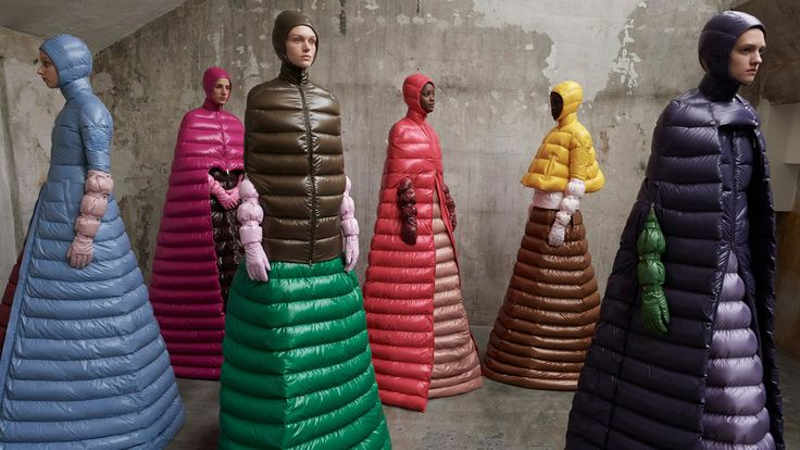 Simone Rocha and Craig Green were among designers tasked with reinterpreting Moncler's signature down jacket for its new Genius project.