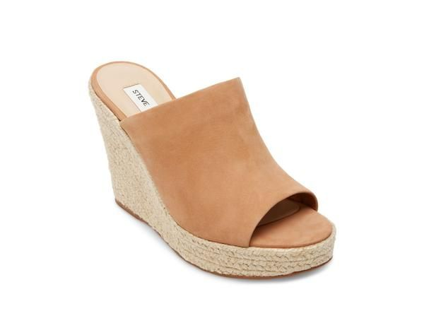 e2cfe1869df Roberta camel nubuck in 2019 | { shoes } | Sandals, Steve madden ...