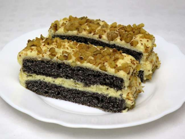 Egy finom sütemény a vasárnapi ebéd után.