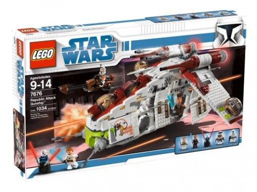 Lego Star Wars Sets : The Republic Gunship Review.