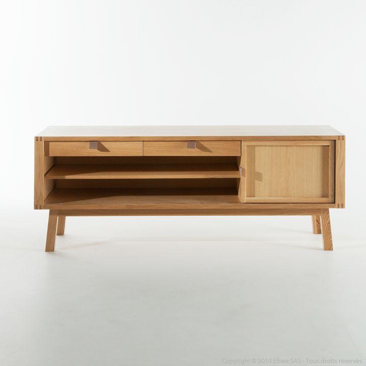 1000 ideas about meuble tv bas on pinterest tv storage - Meuble tv en solde ...