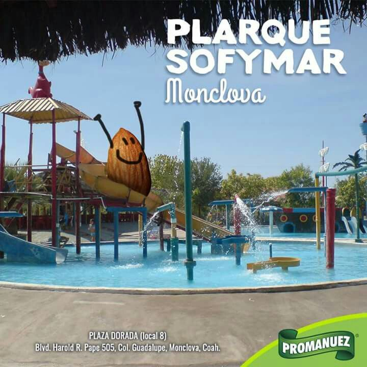 En el Parque Sofymar en Monclova encontrarás gran diversión para chicos y grandes. Toboganes, albercas y mucho más; sin duda un plan perfecto para este calor. Visítalo y no te olvides de llevar a #Promanuez contigo.  http://www.promanuez.com.mx/productos #AliméntateSanamente #RicoySaludable #Natural
