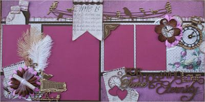 LAYOUT share and notes to complete this double layout by Michelle van Wyk