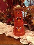 terra cotta pot crafts | Terra Cotta Pot Pumpkins a great craft for ...