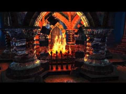 ▶ Crystal Fireplace Screensaver - 3Planesoft - YouTube