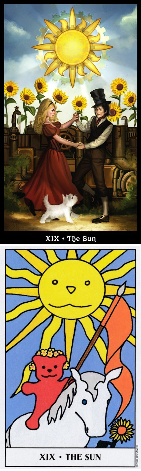 THE SUN: clarity and depression (reverse). Steampunk Tarot deck and Gummy Tarot deck: free angel card reading yes or no, tarot reading for today vs free daily tarot cards. New divination spell and lenormand cards. #tarotchart #chariot #backtonature #witchy