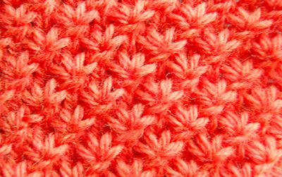 how to knit star stitch in the round pretty!