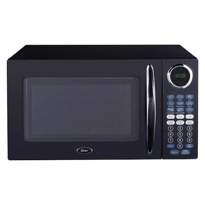 Oster 1 1 Cu Ft 1000 Watt Microwave In 2020 Black