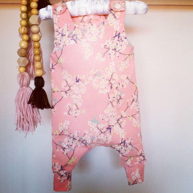 Sweetpeas and Moses Attire | Pandalicious Harem Romper