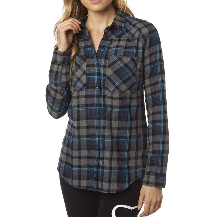 Fox Racing Women's Flown LS Flannel Shirt