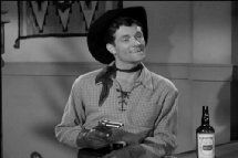 Hugh O'Brian as Jack Beaumont in ''Beyond the Purple Hills''  1950