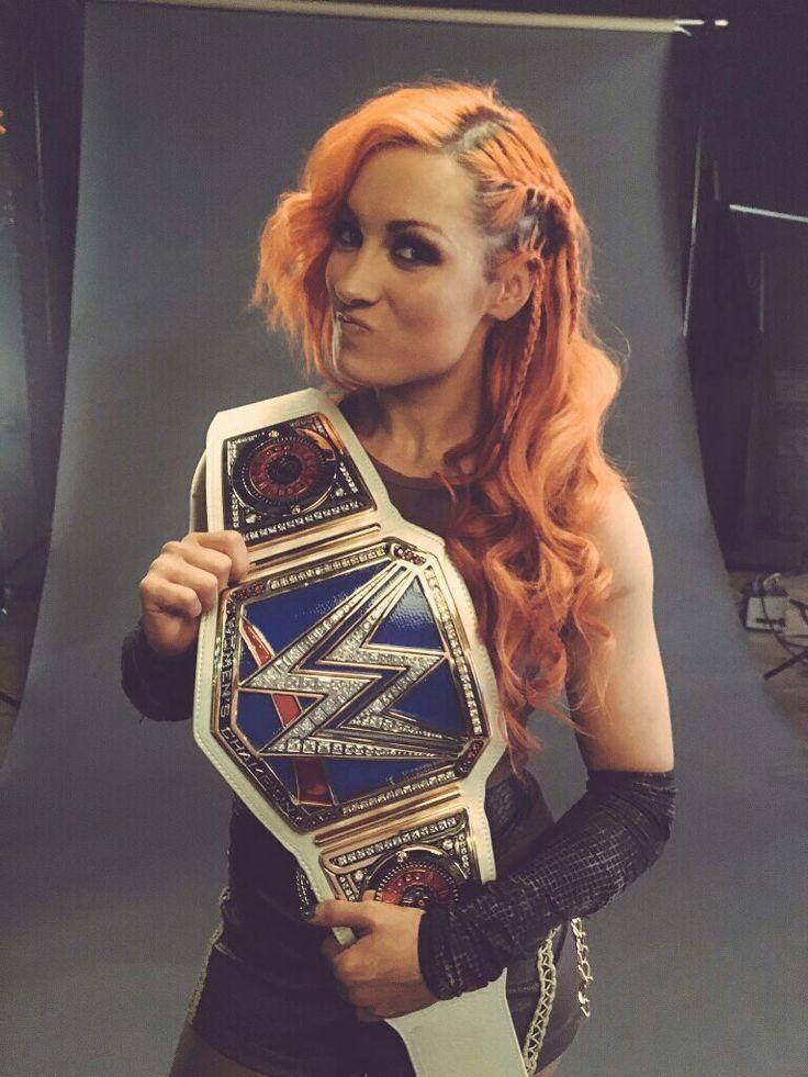 New Wwe Women's Champion Becky Lynch 9/11/16