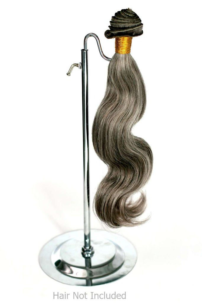 They can be adjusted to a height you will like. Show off your best hair extensions to your customers. Excellent hangers.