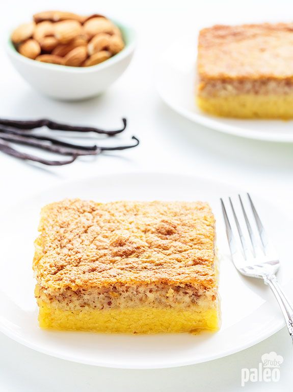 """Holy crap! This stuff is absolutely ridiculous. I am not sure what makes it """"magic"""", but damn it is good. If you want to make a dessert everyone will love, give this custard cake a try."""