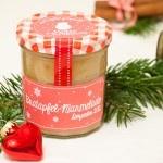 Adventskalender Türchen Nr. 7: Bratapfelmarmelade mit Etiketten zum Ausdrucken