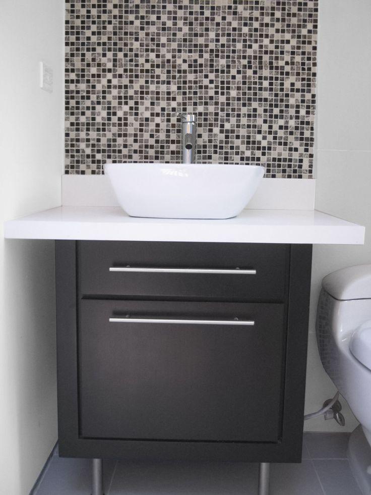 17 mejores ideas sobre lavamanos con mueble en pinterest for Muebles para lavamanos