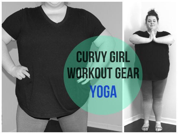 Curvy Girl Workout Gear: Plus Size Yoga | theprettyplus.com