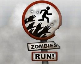 I used to say I could only run if I was chased but I was lying, I couldn't run at all. Now, watch out zombies!!