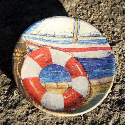 Talířek pod prstýnky - námořnický