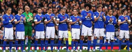 Maximos goleadores Everton en Premier League esta temporada  1 Romelu Lukaku  2 Kevin Mirallas  3 Seamus Coleman  4 Ross Barkley  5 Enner Valencia  6 Phil Jagielka  7 Leighton Baines  8 Tom Davies  9 Gareth Barry
