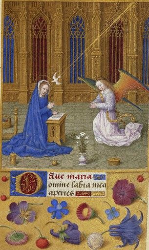 Book of Hours France, ca. 1480 MS M.6 fol. 21r http://ica.themorgan.org/manuscript/page/29/76831