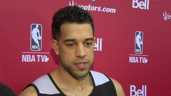 More from Landry Fields after Day 2 of #Raptors Training Camp.