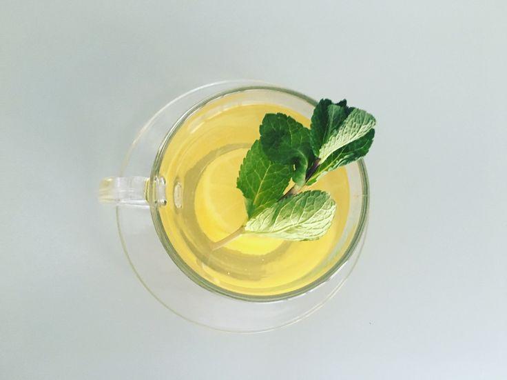 Lemony Buchu Tea