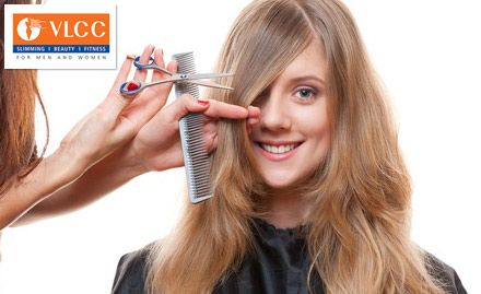 Discount coupons for Hair cut at VLCC salon in delhi and other cities.