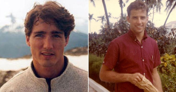 Young Justin Trudeau is Canada's Answer to Young Joe Biden