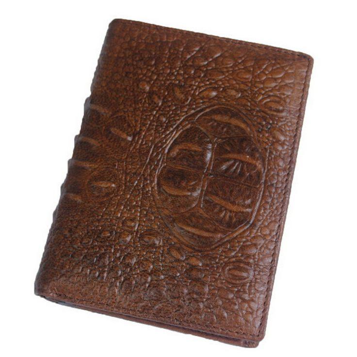MARRANT Luxury Men Wallets Genuine Leather Men's Wallets Vintage Designer Alligator Pattern Men Wallet Money Clip Carteira