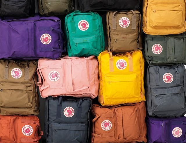 Fjallraven Kanken backpacks - all colors!