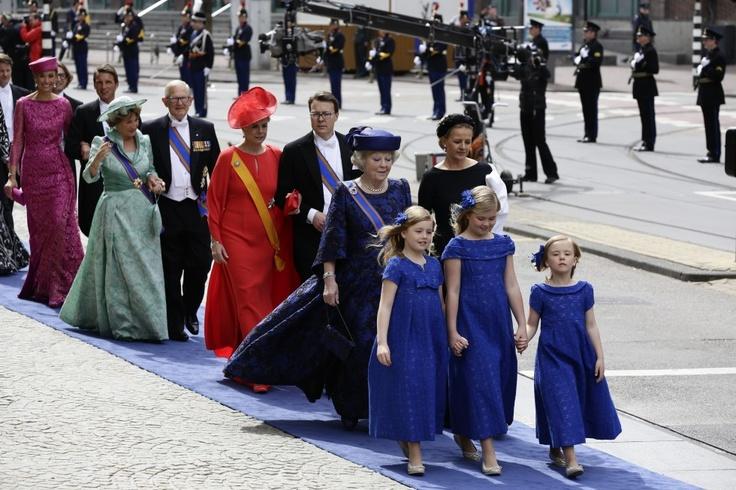 De inhuldiging van koning Willem-Alexander