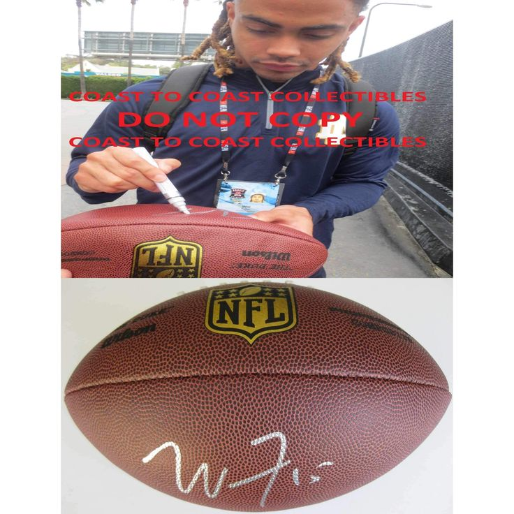Will Fuller, Houston Texans, Notre Dame, Signed, Autographed, NFL Duke Football, A COA with the Proof Photo of Will Signing Will Be Included
