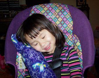 Almohadilla de cinturón de seguridad, almohadilla de cinturón de seguridad, almohada de viaje, almohada para el coche, almohadilla del coche, almohadas para niños, niños regalos, regalos de las niñas, Protector de cuello