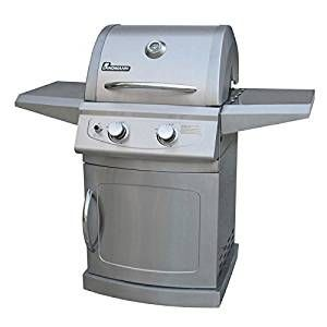 Landmann 42204 Falcon 2 Burner LP Gas Grill with Side Burner