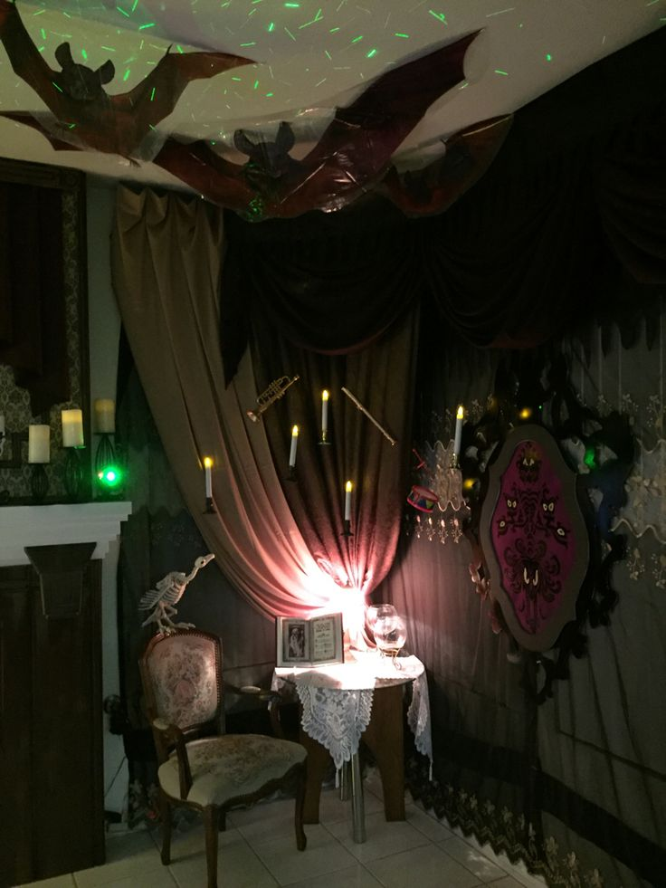 18 Best Haunted House Ideas Images On Pinterest Halloween Stuff