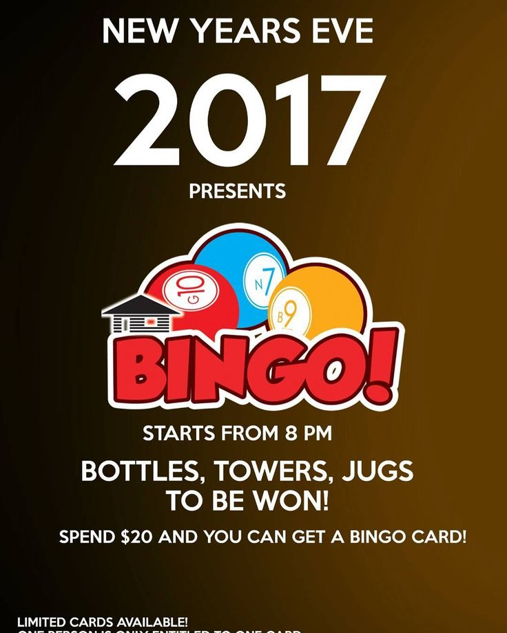 Nowhere to go for New year Eve celebration? Come down to Breakings and get a chance to win some prizes too!  #igsg #instagramsg #newyear #serangoongarden #serangoon #sgpubs #bingo