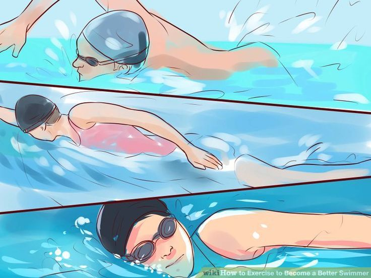 4 Ways to Exercise to Become a Better Swimmer - wikiHow