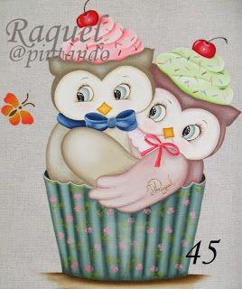 Talita Monteiro: PT - Corujas Cupcake