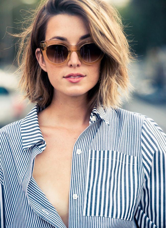 Oui au mix and match de rayures ! (blog The Coveteur)