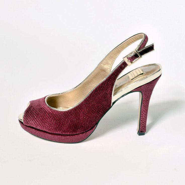 Zapatos de punta abierta formales Pinto di Blu para mujer jNnC58mg