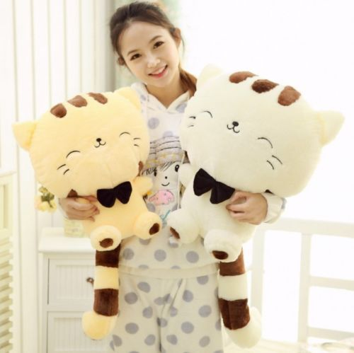 18-45CM-Cute-Plush-Stuffed-Toy-Fortune-Cat-Doll-High-13