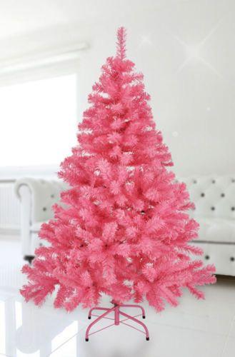Good K nstlicher Weihnachtsbaum cm in ROSA Christbaum Tannenbaum Gothik pink