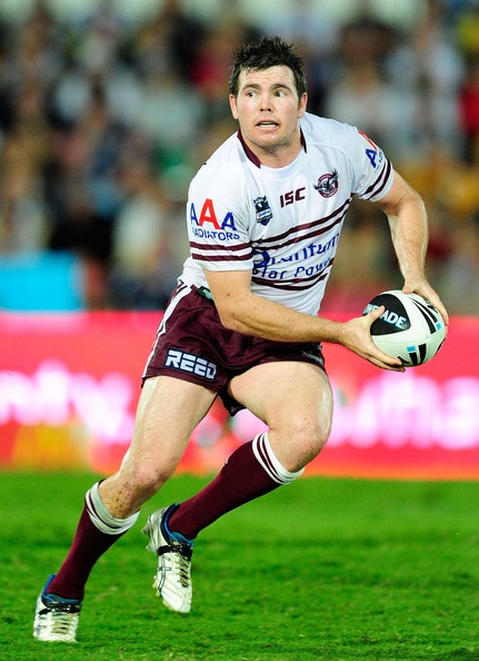 18. Jamie Lyon 2007-current (184 games to date) Centre. Jamie is the current co-captain of the Manly club. He is an Australian international and New South Wales State of Origin representative goal-kicking centre, he played his first club football for the Parramatta Eels before joining English club St. Helens, with whom he won the 2006 Championship and Challenge Cup titles. Lyon then returned to the NRL with Manly. He lost a Grand Final in 2007, but played in the 2008 and 2011 Grand Finals…