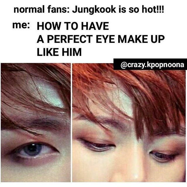 Lmao same I was like DAMN THAT MAKE UP IS ON POINT