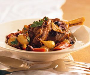 Lamb shanks are an underutilized and wonderfully flavorful cut of lamb. Ideal for crockery cookers, the meat is tender enough to fall off the bone. Infused with orange and spices, it is the perfect warming supper to serve on chilly late winter evenings.